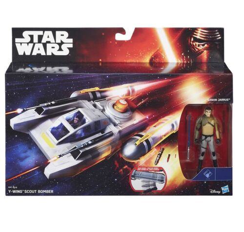 Star Wars Y-wing Scout Bomber Kanan Jarrus Force Réveille véhicule New In Hand