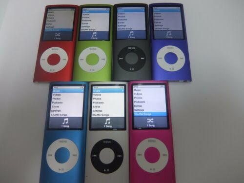 Apple ipod Nano 4th Generation 8 30 Day Warranty! 16 GB