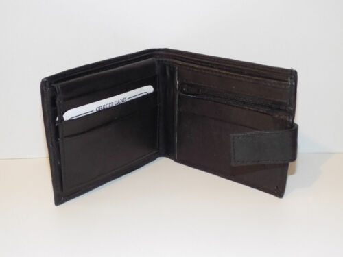 90268 Real Leather Fabretti Wallet With Zip Compartment And Card Holder