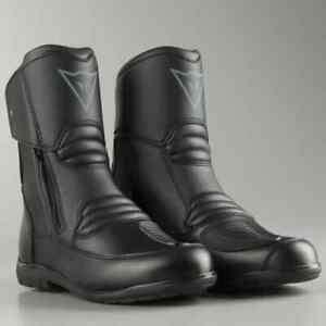 Dettagli su Stivali bassi pelle moto Dainese Nighthawk D1 goretex taglia 46 touring boots