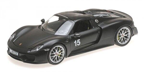 el mas de moda Porsche 918 Spyder nº 15 Weissach Package (Matt (Matt (Matt negro) 2015  Venta barata