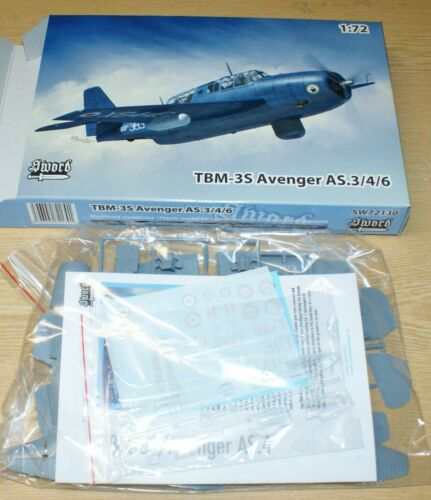 TBM-3S Avenger AS.3//4//6 2x camo von Sword in 1//72
