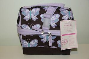 Pottery Barn Kids Brown Amp Purple Butterfly Retro Lunch Box