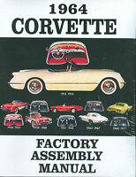 1964 Corvette Factory Assembly Manual-bound
