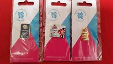 Olympics London 2012 - 3 x Team GB Olympic Venue Collection Pin Badges £3.00