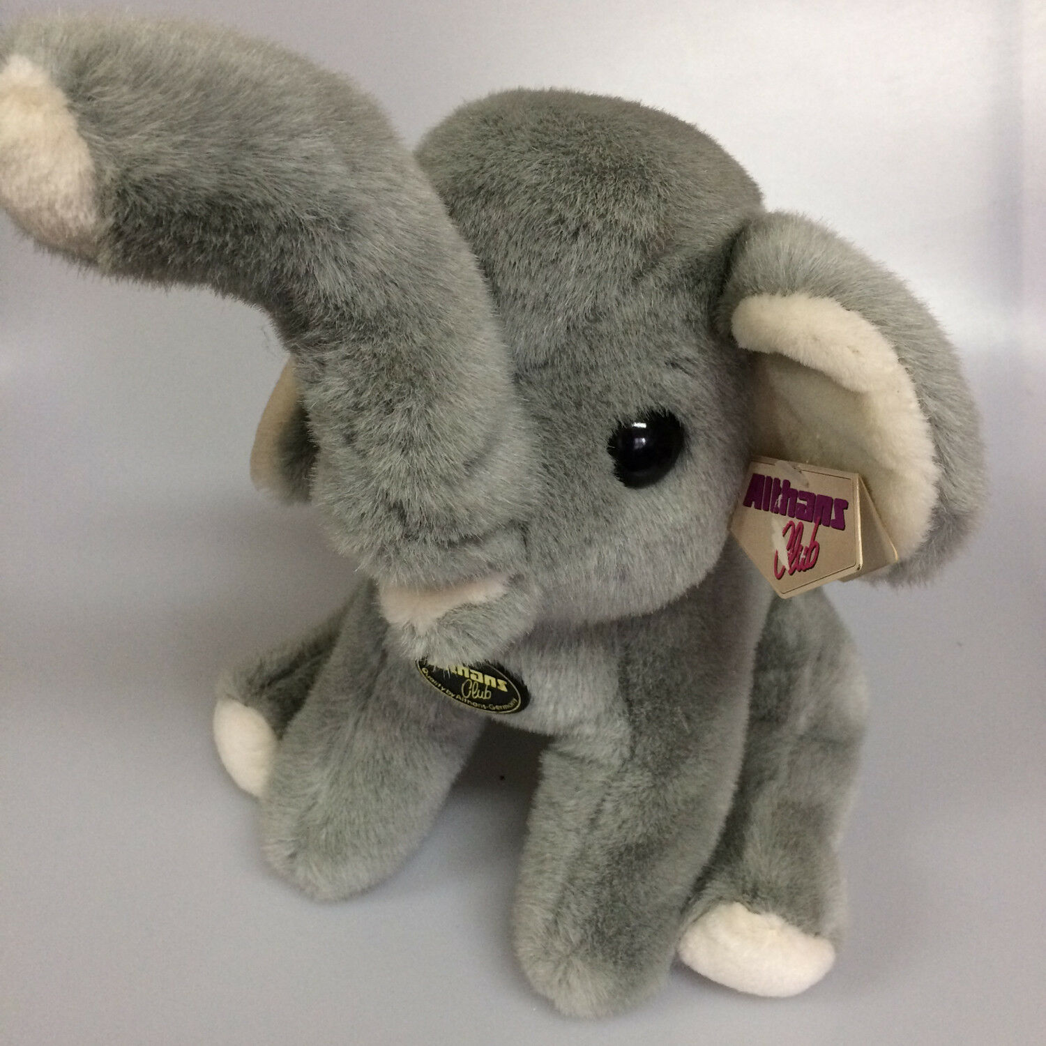 Stuffed Toy Elephant Sitting 30 cm Althans Club 00620 610023