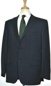 KITON-Mens-3-BTN-Cotton-Cashmere-Flat-Front-Suit-Size-54-EU-44-R-US-NEW-7295