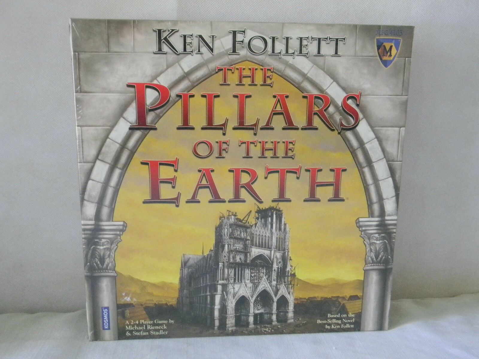 THE PILLARS OF THE EARTH BOARD GAME GAME GAME BRAND NEW FACTORY SEALED KEN FOLLETT 713db3