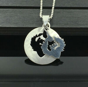 Fashion-Womens-Mens-Silver-Stainless-Steel-Titanium-Pendant-Necklace-C3