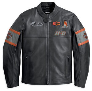 Screaming Harley Leather Davidson Motorcycle Details Men's Motorbike Jacket Eagle About 54jL3cRqA