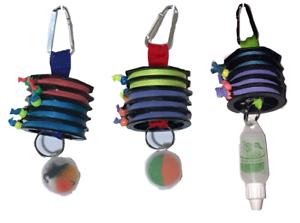 NEU NEW  Vorfach Spulenhalter mit 5 Vorfächern Tippet holder with 5 tippets