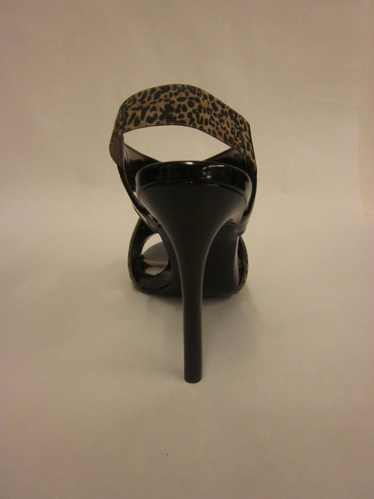 Carlos Santana Innuendo Black Leopard Sandal - - - Size 6.5 af0281