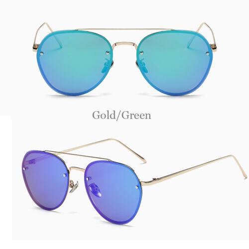 Hommes Femmes Dames Lunettes de soleil polarisé conduite miroir de la Mode Sans Monture Lunettes