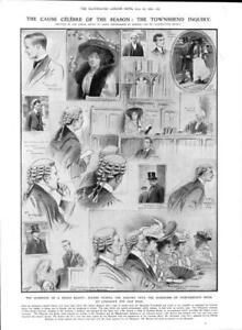 1906-Antique-Print-LONDON-LEGAL-Marquess-Townshend-Inquiry-Lincolns-Inn-403