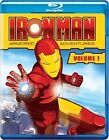 Iron Man Armored Adventures Volume 1 0796019821926 Blu Ray Region a