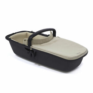 Brand New Quinny Lux Carrycot in Sand on Graphite RRP£185