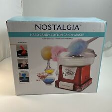 Nostalgia Retro Cotton Candy Maker Uses Hard Candy Or Flossing Sugar