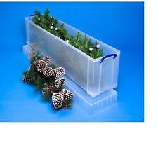 Davvero utile 77 LITRI per albero di Natale Box Impilabili Taglia h36, w27, d120cm