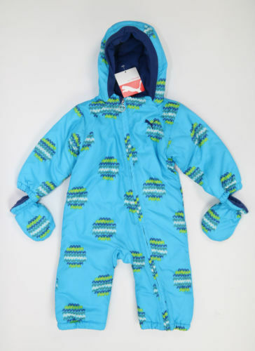Puma Winter Snowoverall snow suit 822019 01//02 blue and pink