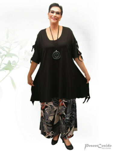Pocodesign Cut Knot Long xxl Out L Wrap xl arm xxxl shirt Lagenlook Tunica RTBR6w