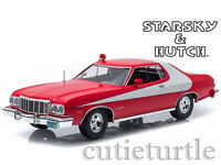 Greenlight Starsky And Hutch Tv Series 1976 Ford Gran Torino 1:18 Red 19017