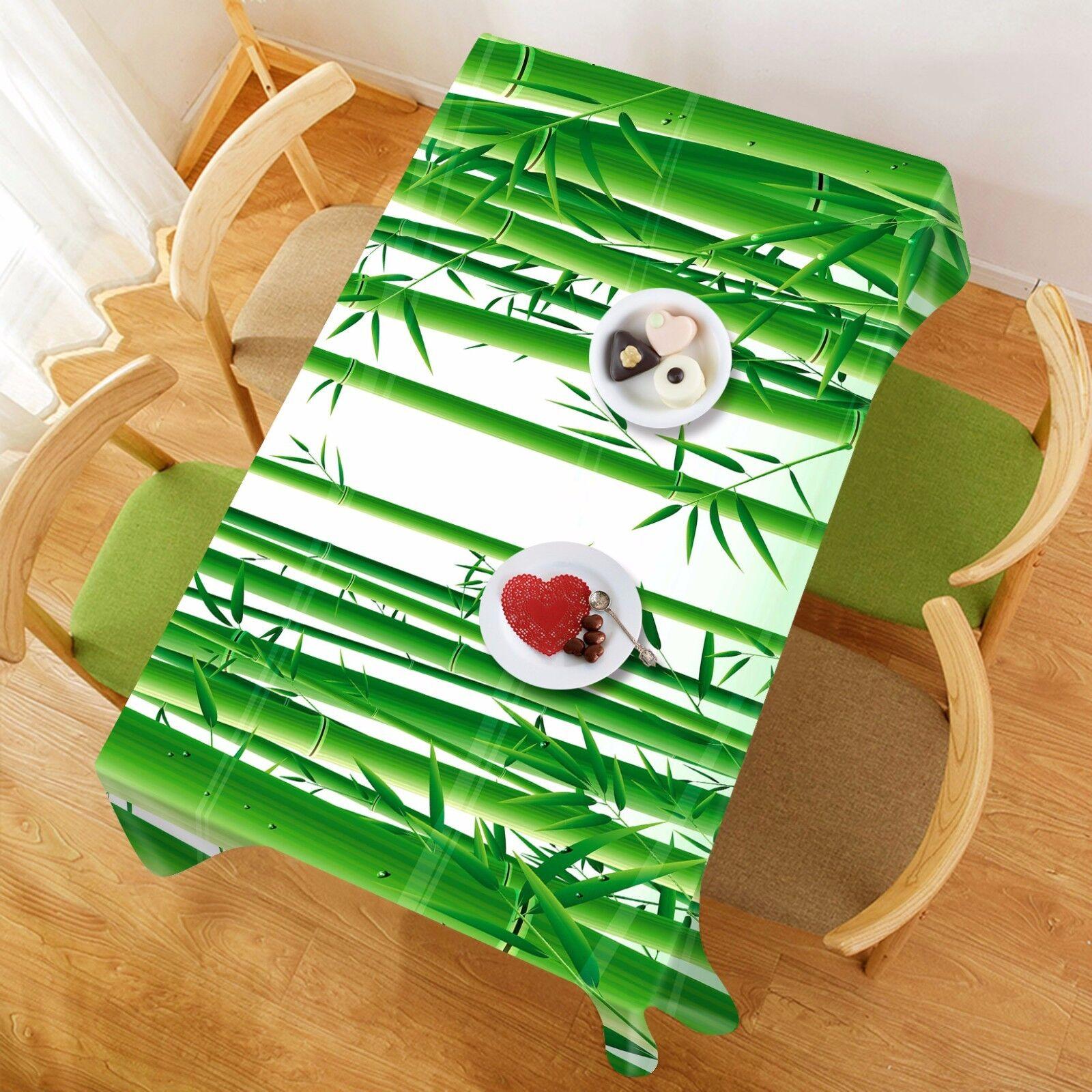 3D Bamboo 839 Nappe Table Cover Cloth Fête D'Anniversaire événement AJ papier peint UK