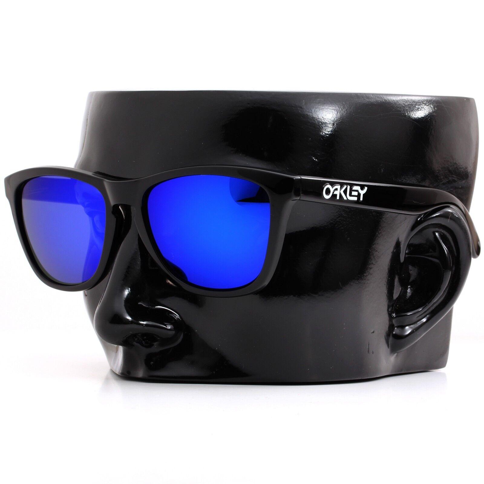 99e778eb02 Polarized IKON Iridium Replacement Lenses For Oakley Frogskins Deep Blue