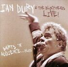 Warts 'N' Audience [Warts 'N' Audience...Plus!] by Ian Dury/Ian Dury & the Blockheads (CD, Sep-2000, Diablo (UK))
