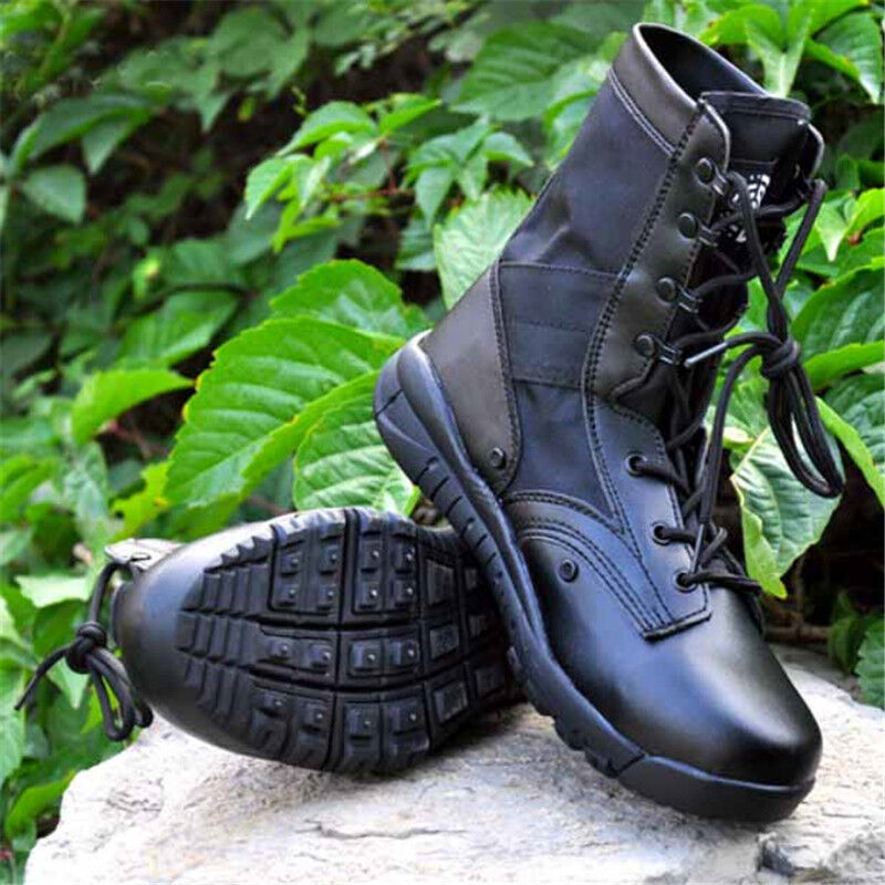 Men's Military Combat Boots Tactical Army Desert Hiking patrol Trekking  Climbing  online cheap