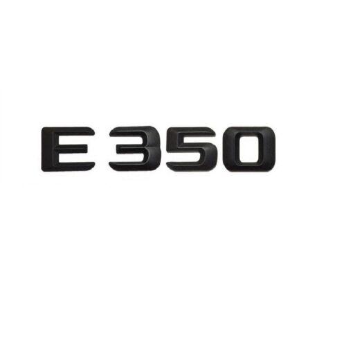 Black Trunk Letters Number Emblem Emblems Badge Sticker for Mercedes Benz E350