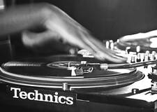 TECHNICS SL 1210 SCRATCH DJ DECKS TURNTABLES A3 ART PRINT POSTER GZ5494