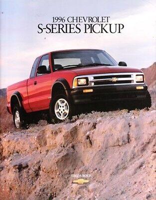 1996 96 Chevrolet S10 Pickup Original Brochure Mint Ebay