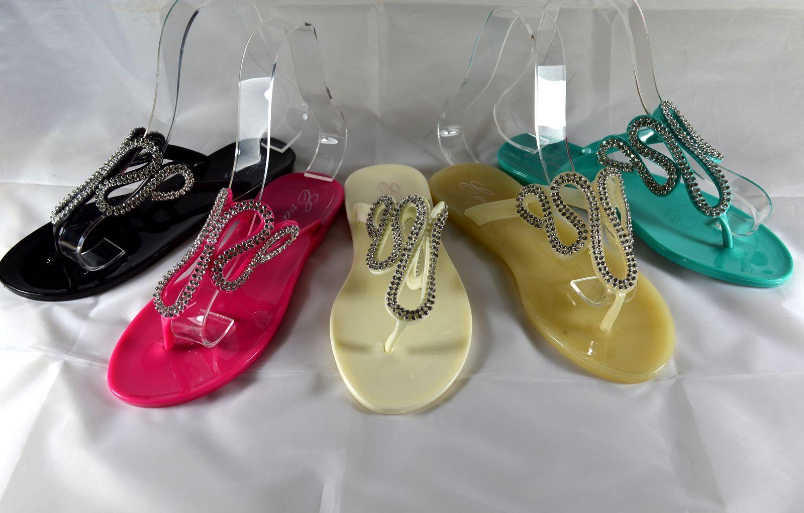 Classy Ladies Shoes Flip Flops Sandals Beach Beach Shoes Size gr.36-41 Beach Sandals A.168 e4c2e8