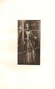 C1900 Estampado ~ Effigy Of Mary II ~ Westminster Abbey