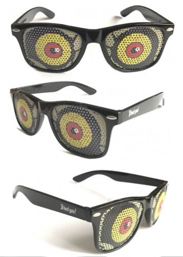 Halloween Novelty Party Glasses Funny Eye-Catching Geek Dress-2 Pairs Only £2.39