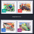 2001 - Australia - Desert Birds - P&S set of 4 - Pemera - MNH