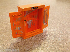 1/18 SCALA TSM BETA TOOL KIT strumento Gabinetto modificati GARAGE OFFICINA DIORAMA