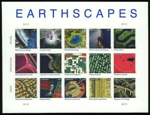 Earthscapes-Sheet-of-Fifteen-Forever-Stamps-Scott-4710