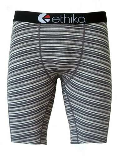 Black Stripe Ethika Mens Underwear Shorts Boxer Pants US Size S//M//L//XL