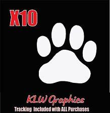 Paw Prints * Vinyl Decal Sticker School Dog Cat Family Car Window Pet Truck suv