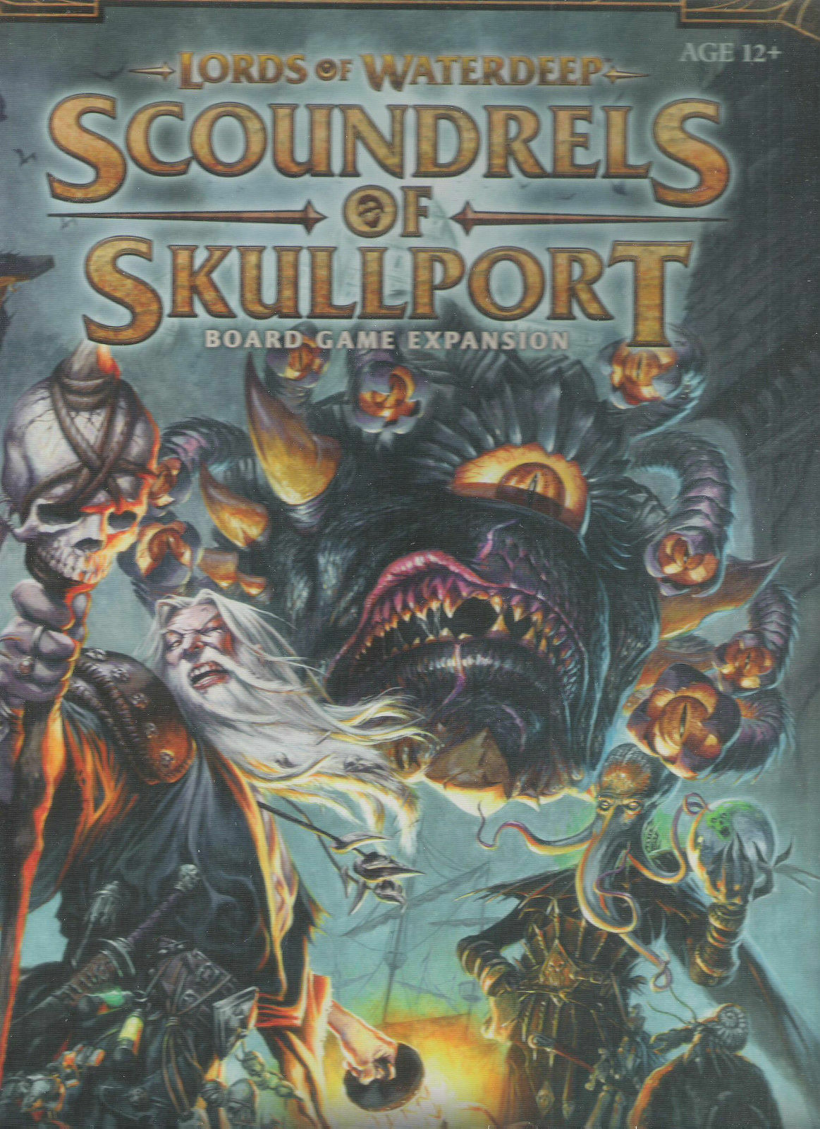 SCOUNDRELS OF SKULLPORT WATERDEEP LORDS EXPASNION DUNGEONS DRAGONS WOTC BOXED