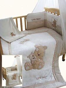 Details about 5 pcs Baby Boys Girls Cot/ Cot-Bed Set Beige - Best Friends