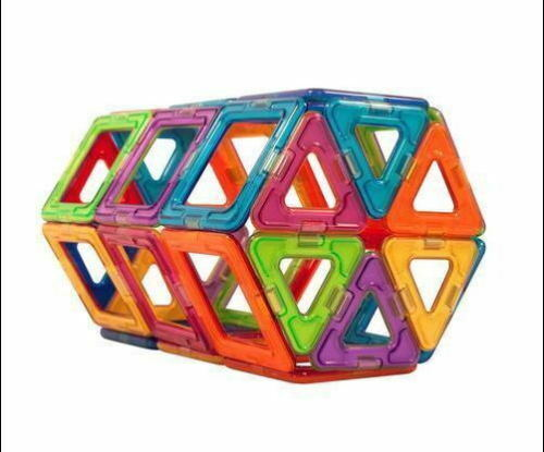 20 Pieces Magnetic Blocks Building Toys For Boys Girls Magnet Small Basic Set