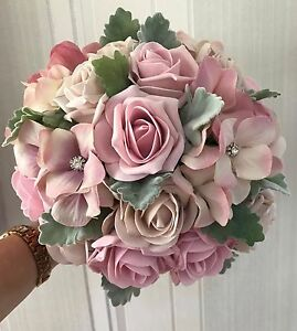 Wedding Flowers Vintage Style Bouquets