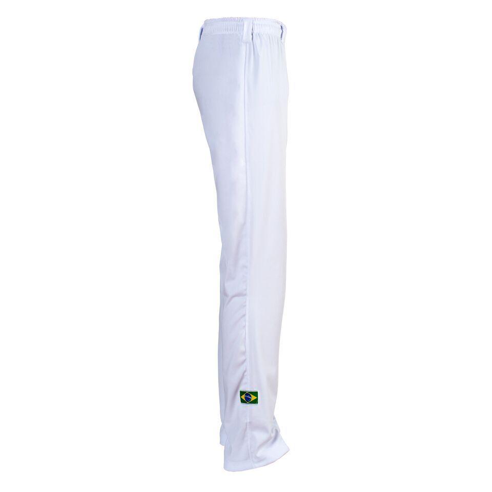Unisex Weiß Brasilien Capoeira Abada Kampfsport Elastisch Hose 6 6 6 Größen 7601fa
