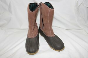 Redhead-Men-039-s-Waterproof-Insulated-Flannel-Zippered-Boots-Size-9-D