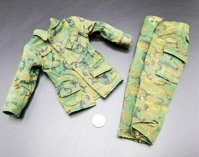 "1:6 Ultimate Soldier Vietnam ERDL Camo Uniform 12/"" GI Joe BBI Dragon SEAL Army"