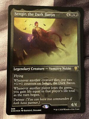the Dark Baron Commander Legends NM MTG Foil Etched Sengir Lily/'s Magic