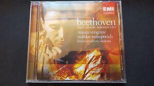 MAXIM VENGEROV  BEETHOVEN  EMI CLASSIC CD - London, United Kingdom - MAXIM VENGEROV  BEETHOVEN  EMI CLASSIC CD - London, United Kingdom