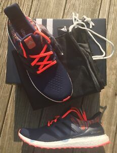 premium selection b4c1d 0ffd0 Adidas Ultra Boost 2.0 Rainbow Navy/Solar Red MiAdidas Size 11.5 ...